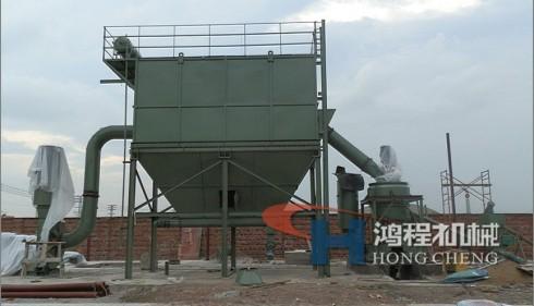 桂林鸿程磨粉机碳酸钙生产设备
