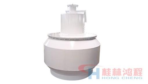 桂林鸿程磨粉机选粉系统