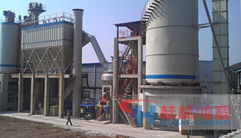 广西60万吨钢渣处理生产线设备厂家 HLM立式磨粉机