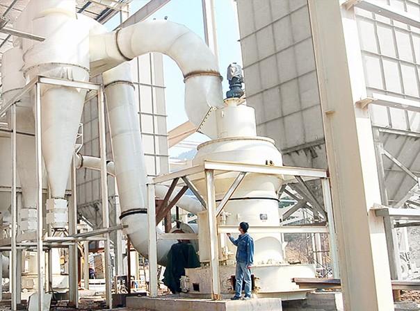 高压磨粉机制200目方解石钙粉
