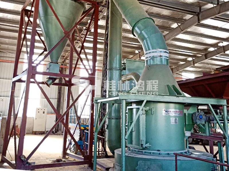 桂林鸿程磨粉机5R4121石灰石磨粉机