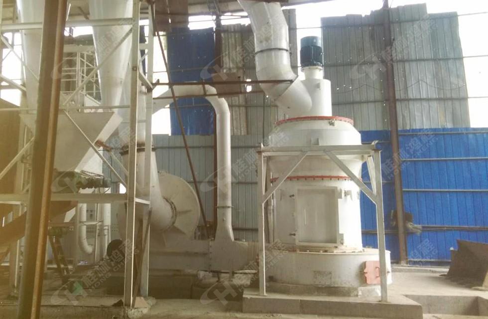 7台HC白云石磨粉机生产线落户湘西