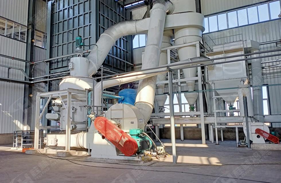 桂林鸿程工业磨粉设备生产线