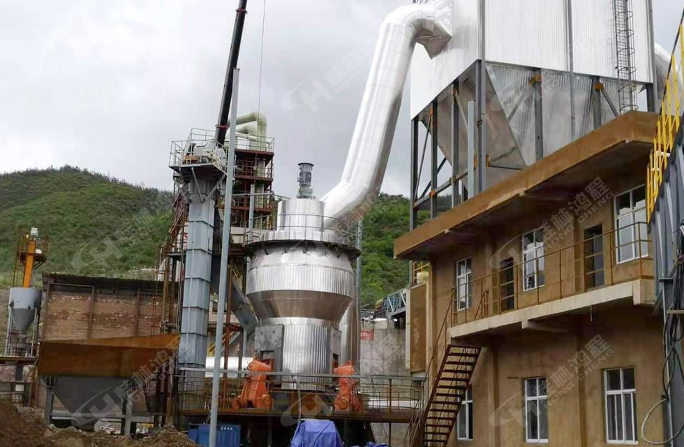 400目磷矿石磨粉机 HLM立式磨粉机
