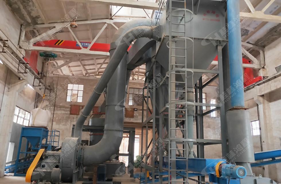 HC1700膨润土新型磨粉机安徽280目生产线上岗罗
