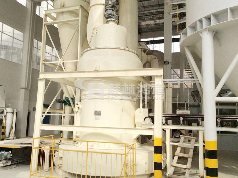 脱硫石灰石粉用什么磨? 用HC摆式磨粉机投资性价比高