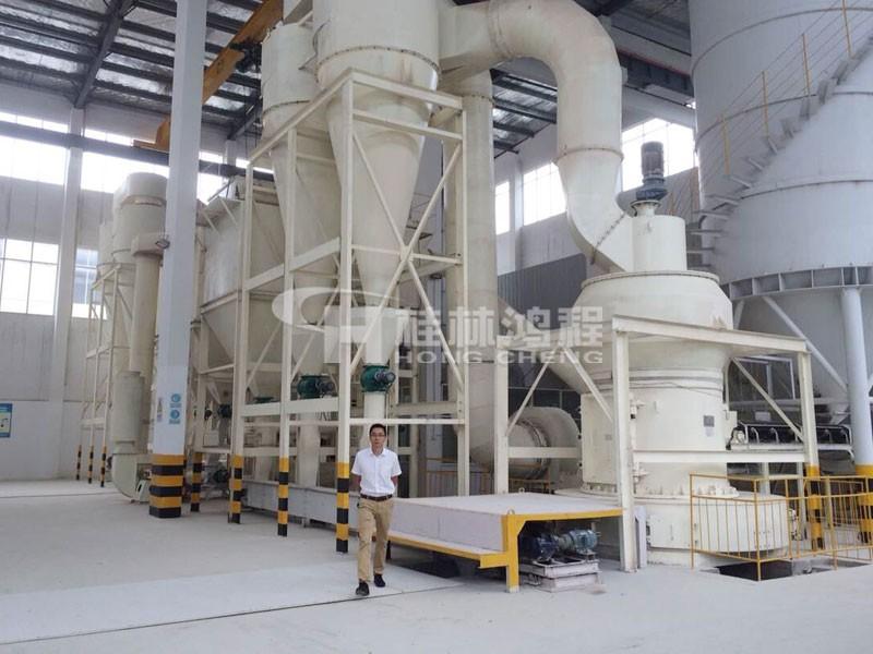 95型高压悬辊磨粉机多少钱一台 HC摆式磨粉机
