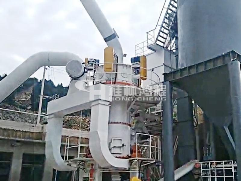 粉煤灰物理加工设备:HLMX超细粉煤灰立磨