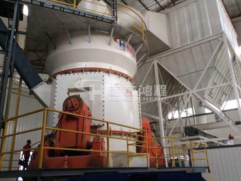 桂林鸿程全套矿渣立磨2.4米磨矿渣粉生产线HLM2400立式磨粉机