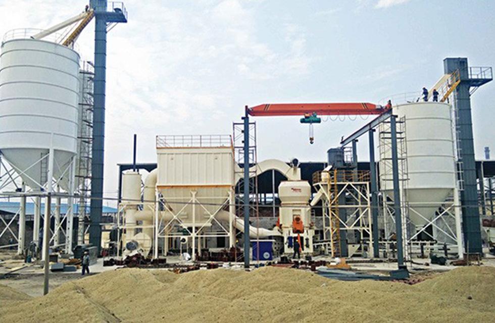 广西北流某公司年产6万吨矿渣立磨项目