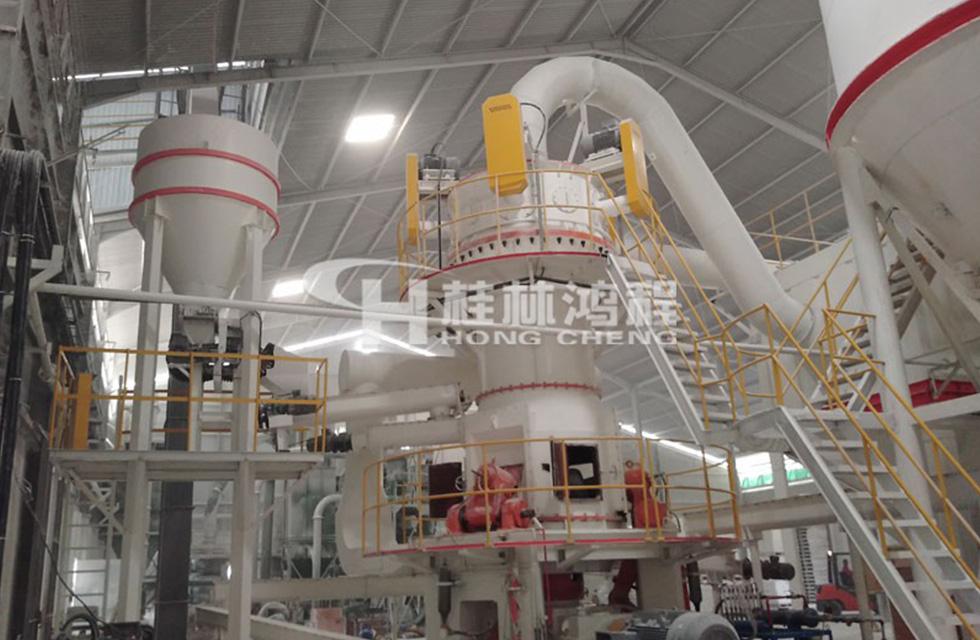 广西某年产10万吨超细碳酸钙立磨
