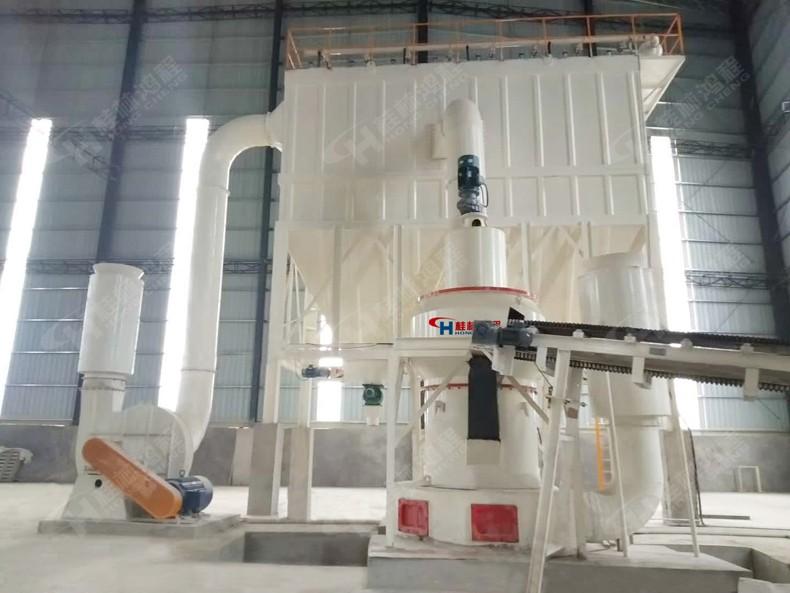硅灰石粉加工流程用设备:硅灰石磨粉机