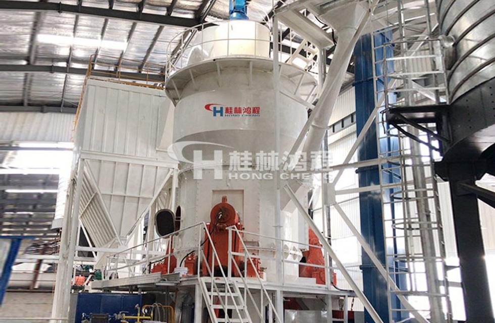 页岩磨机HLM立式磨粉机贵州某粉体企业年产32万吨项目