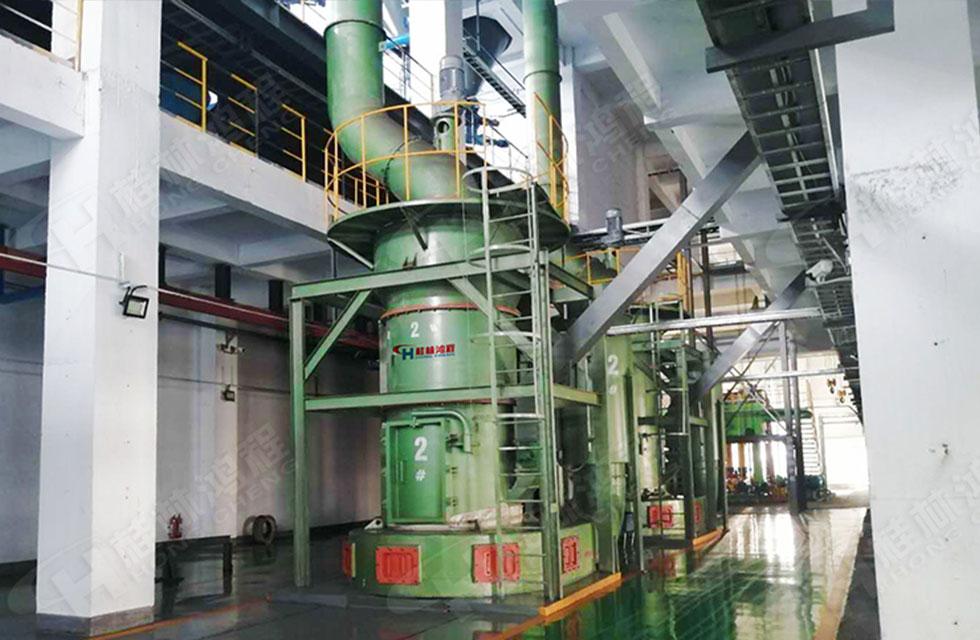 石墨磨粉设备河南林川客户正式量产
