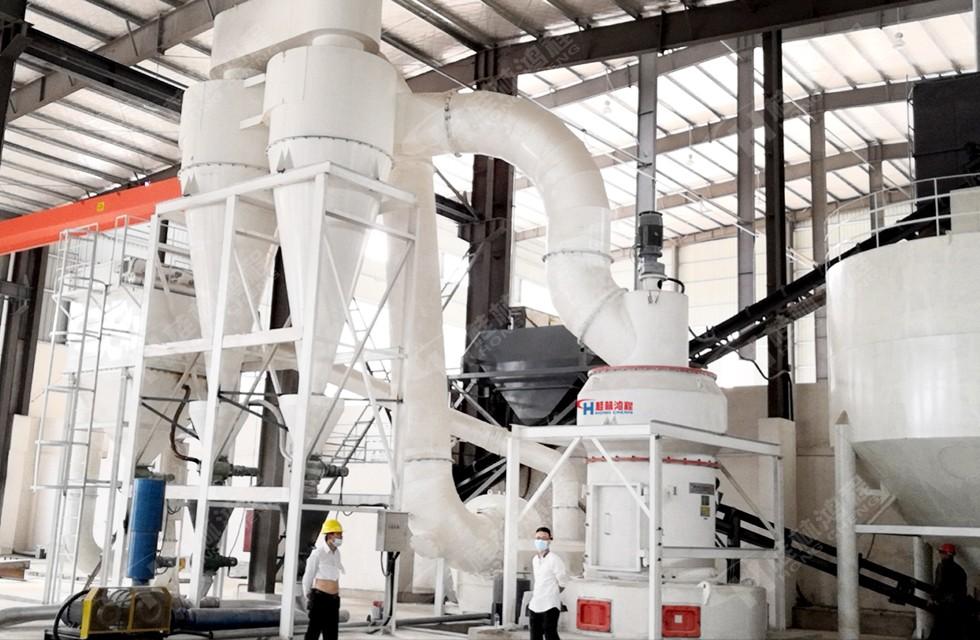325目方解石粉生产设备安徽客户项目竣工验收合格