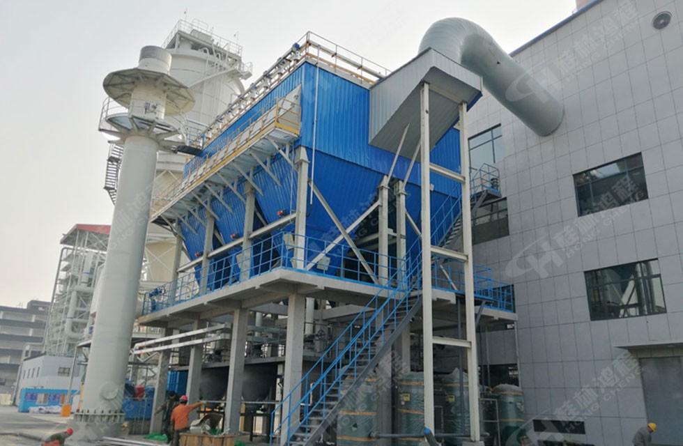 兰炭磨粉机HLM2000立式磨粉机山东某炭素公司启动生产