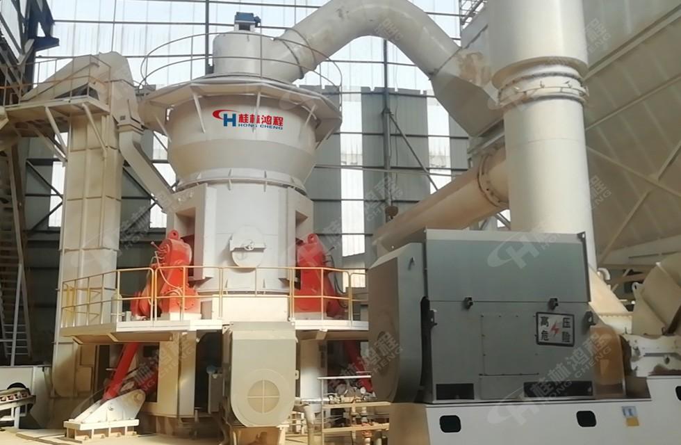 HLM1700铝矾土立磨山西某公司订购设备产量达20吨