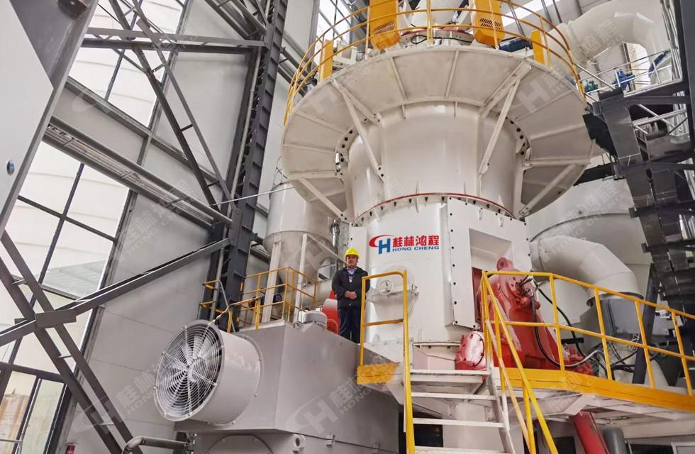 年产70万吨超细立磨重质碳酸钙粉项目四川客户投产
