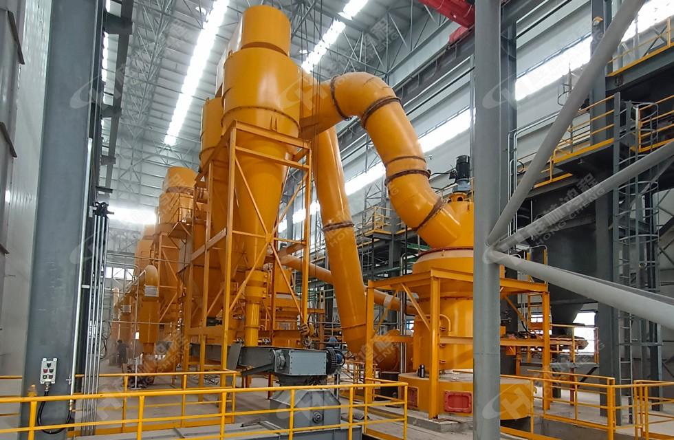 【山西】某年产高效活性炭6万吨配备大型煤粉专用磨机生产线投产