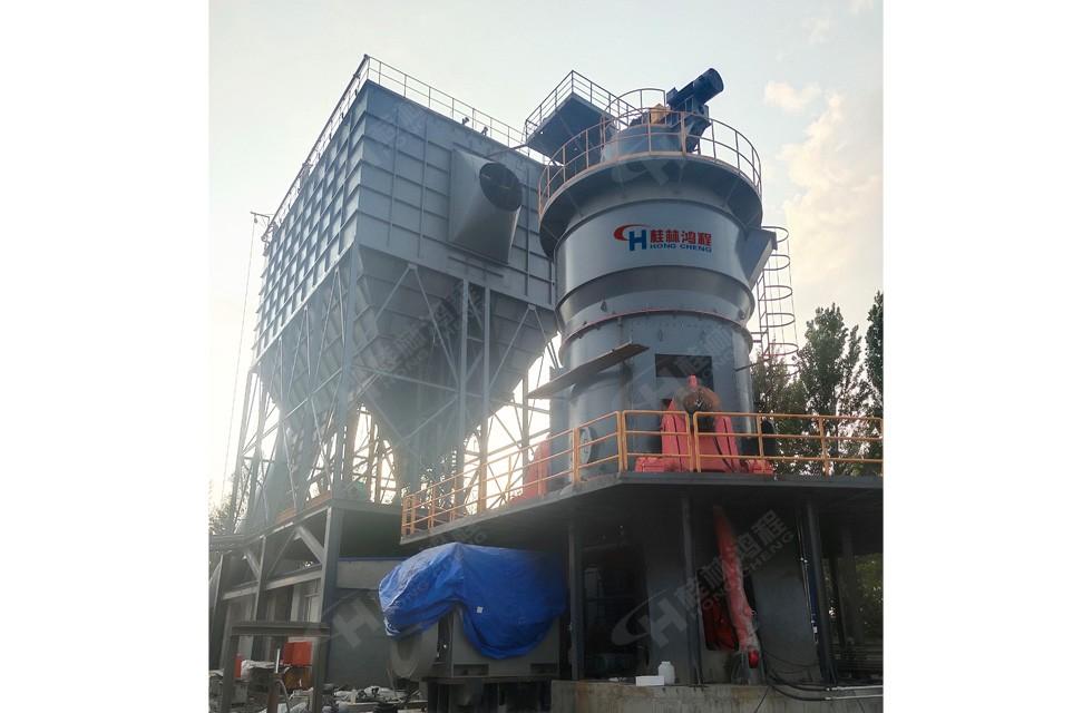【案例】内蒙水泥立磨HLM2400鸿程新增客户生产线投产