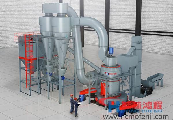 脱硫用磨粉机 石头磨粉机 HC1700纵摆磨粉机 雷蒙磨