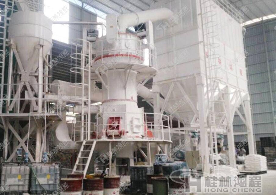 铝用阳极石墨磨粉机推荐机械-HLMX超细立式磨机 出粉细度325-2500目