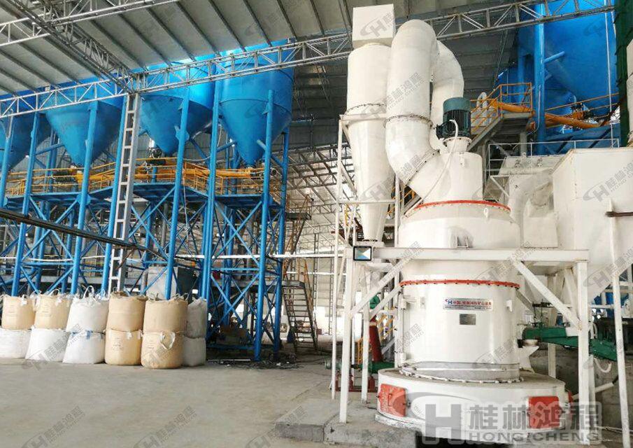 桂林鸿程磷矿石磨粉设备4r3216雷蒙磨粉机