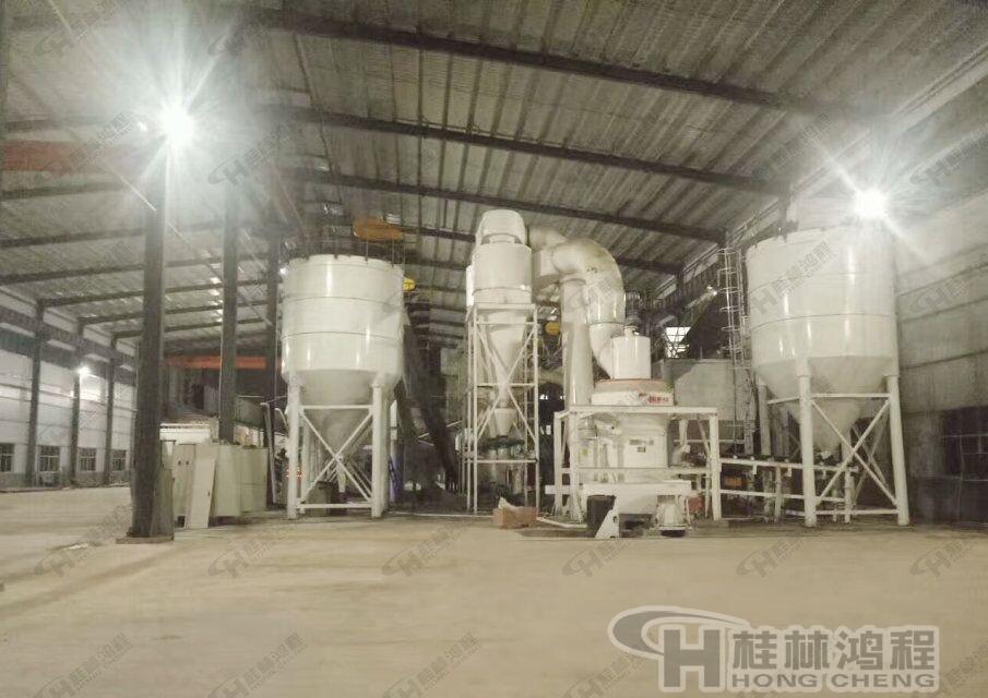 桂林鸿程高效节能磨粉机:HC系列纵摆式磨粉机石灰石磨粉机