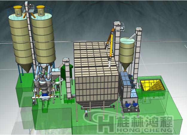 HC氢氧化钙生产线