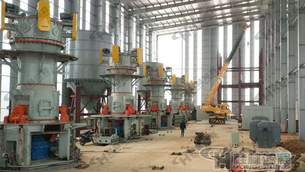 桂林鸿程001号磨粉机生产线EPC项目总包超细立磨
