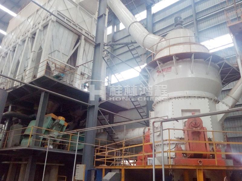 300目石粉磨粉生产线雷蒙磨型号80~325目磨粉机 磨机设备后起之秀:HLM立式磨粉机