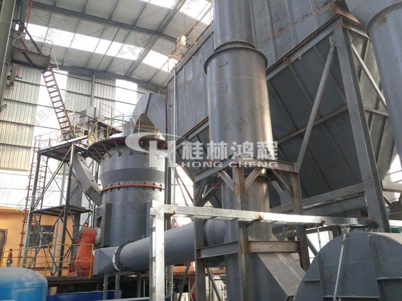 河南磷钾矿石磨粉机生产线鸿程HLM立磨