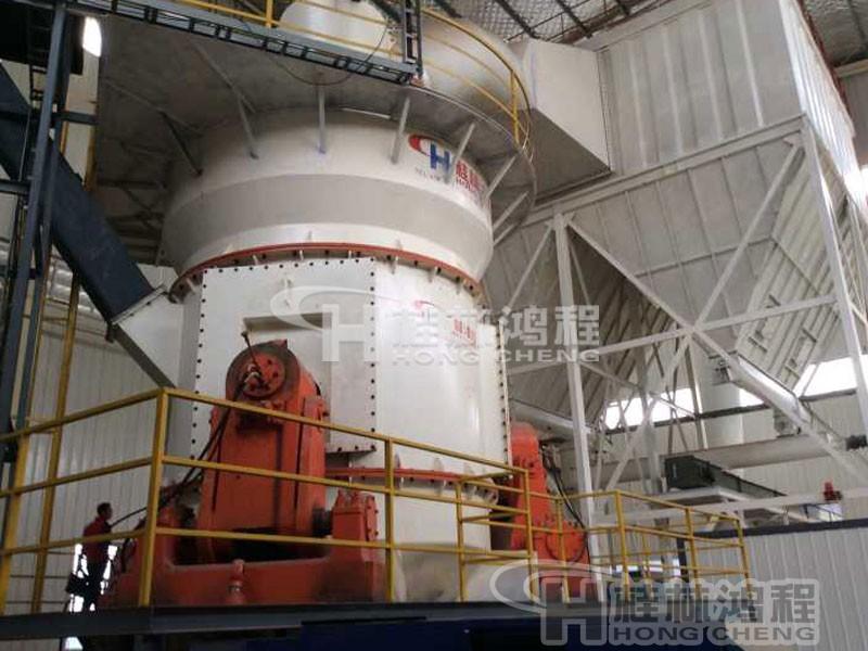 200目石灰石磨粉机HLM2400立式磨粉机