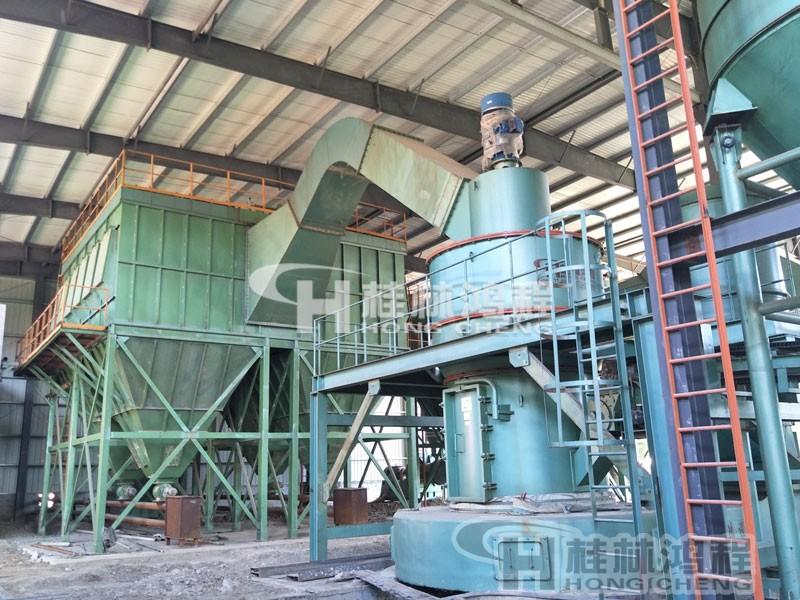 桂林鸿程雷蒙机设备种类二:升级版雷蒙磨HC摆式磨粉机