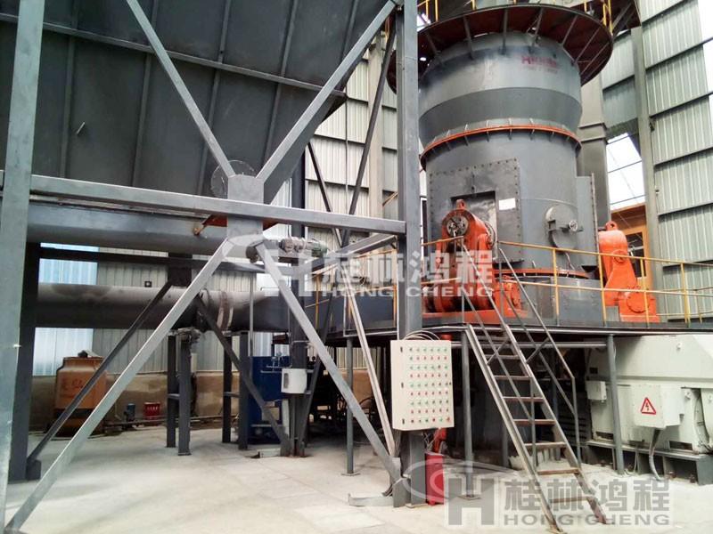 贵州黄磷炉渣HLM2000立磨400目15吨生产线