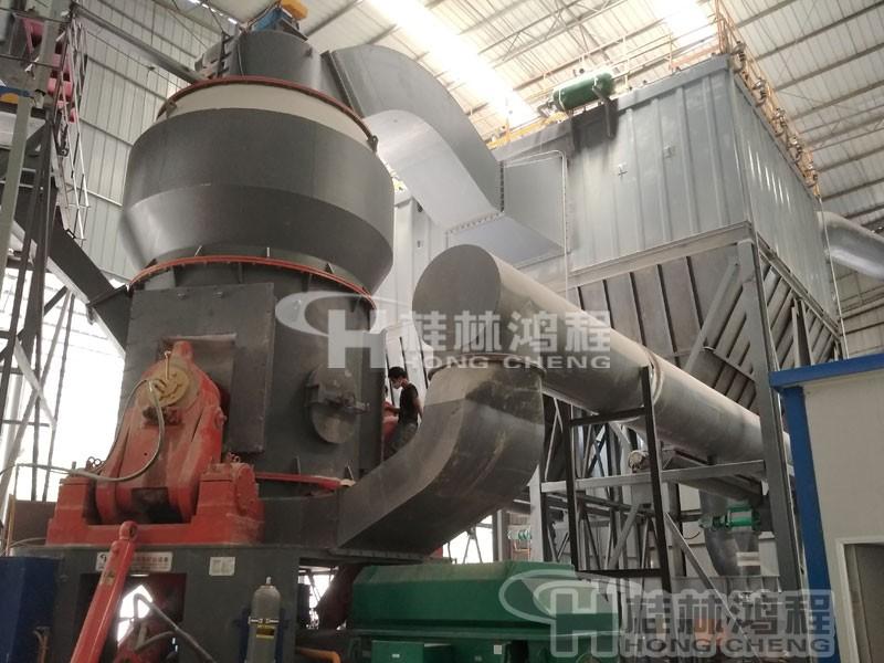 矿石干磨机HLM大型立式磨粉机