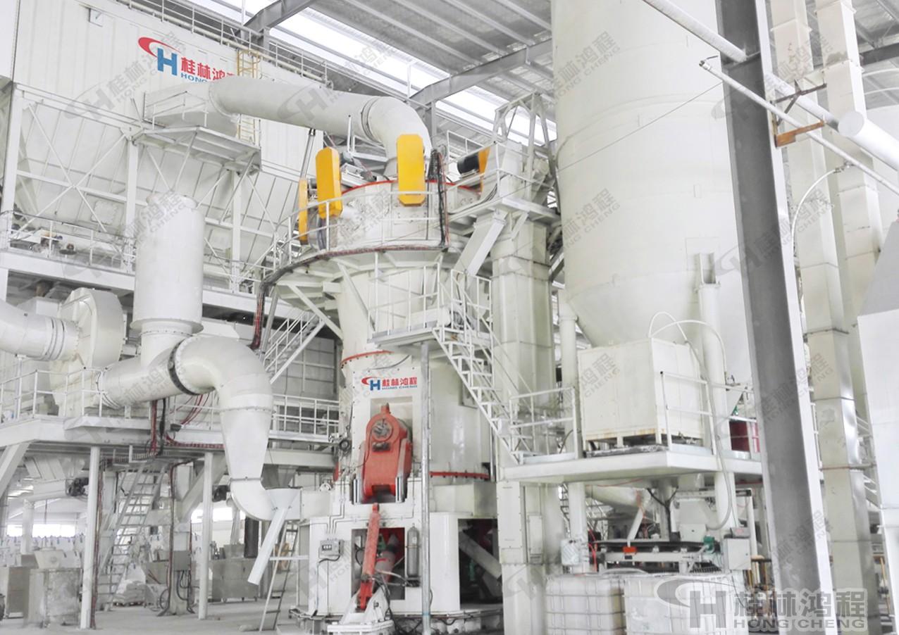桂林鸿程环保型玄武岩立磨 HLMX细粉立式磨粉机