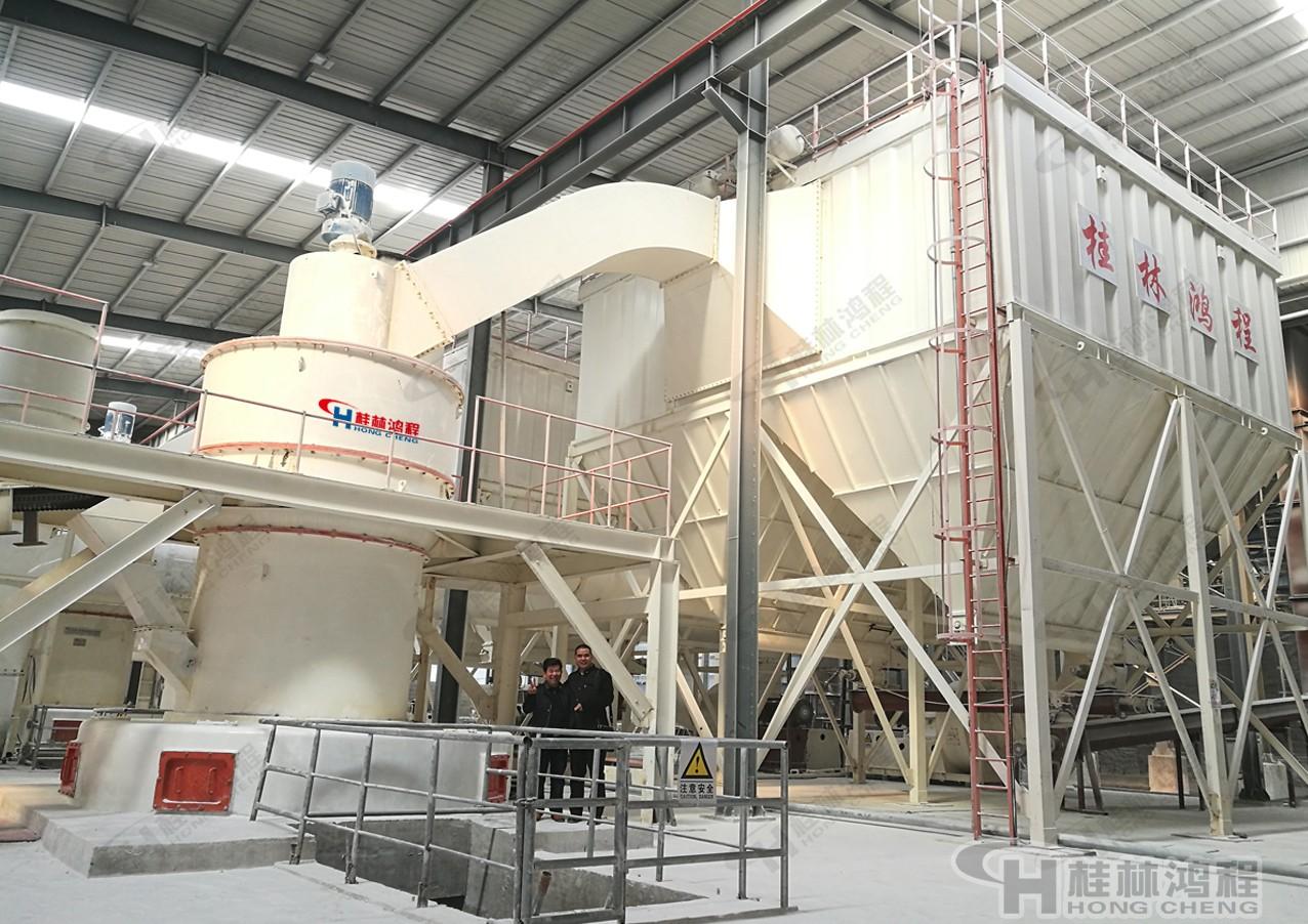 桂林鸿程石油焦粉设备 石油焦雷蒙机 HC摆式磨粉机