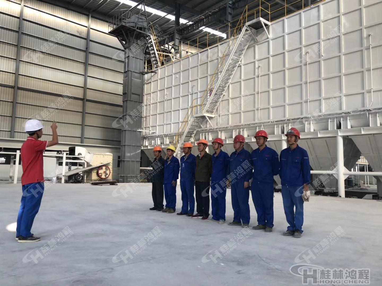 鸿程矿山机械项目总包报务团队 纪律严明 工作效率高 技术专业
