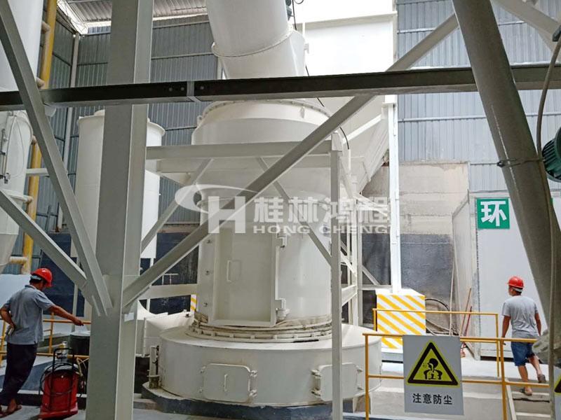 贵州400目石灰石磨粉机HC1700摆式磨粉机