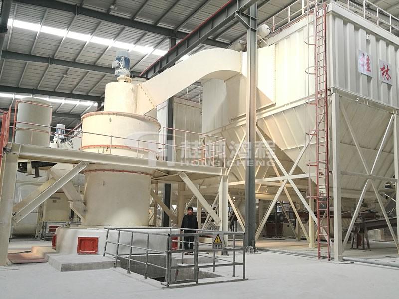 HC2000膨润土雷蒙磨生产线大型摆式磨粉机