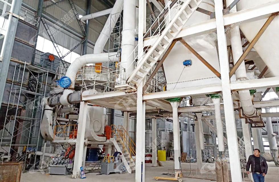 电厂脱硫石膏磨机HLMX超细立磨