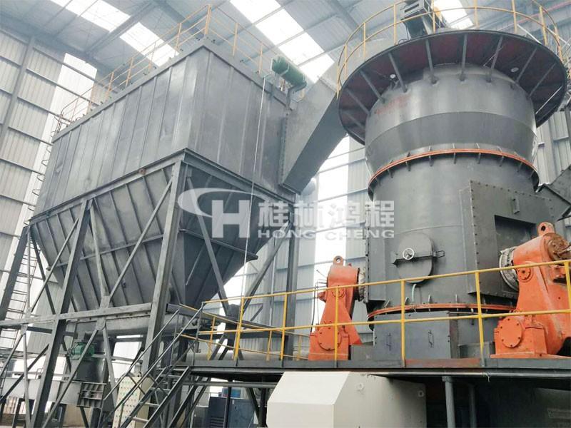 HLM50/4S矿渣立式辊磨机