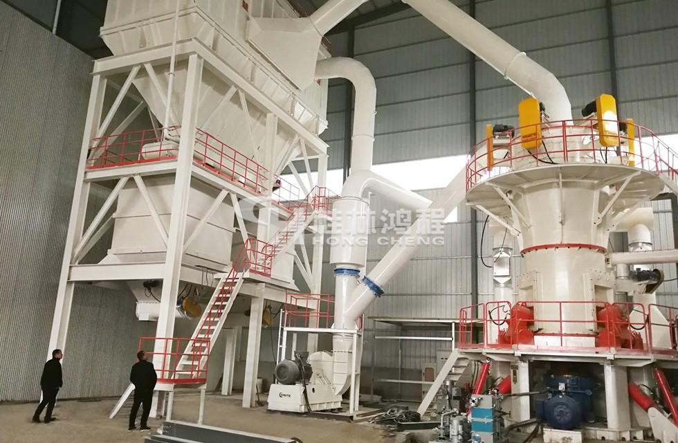玻纤磨粉设备磨粉机:HLMX超细立式磨粉机