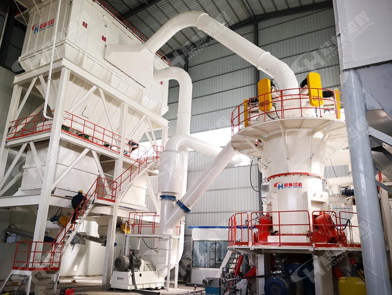桂林鸿程高钙石深加工设备-HLMX超细立式磨粉机
