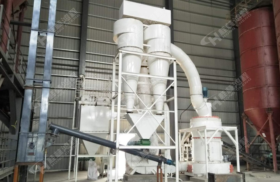 高岭土粗磨粉设备实现325目4吨产能