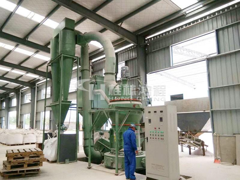 200目石油焦粉小型机HC1000纵摆磨粉机