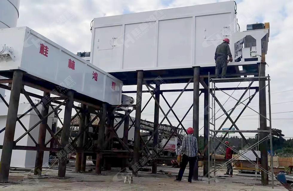 桂林鸿程15吨新型氢氧化钙生产线湖南客户即将完工