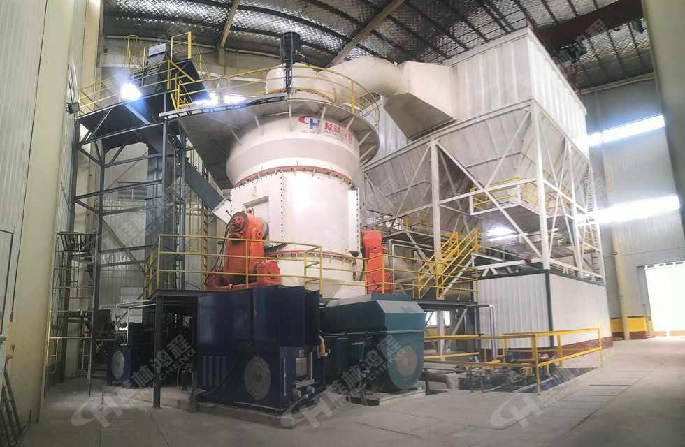 桂林鸿程100目325目磷钾矿石磨粉机生产线HLM立磨