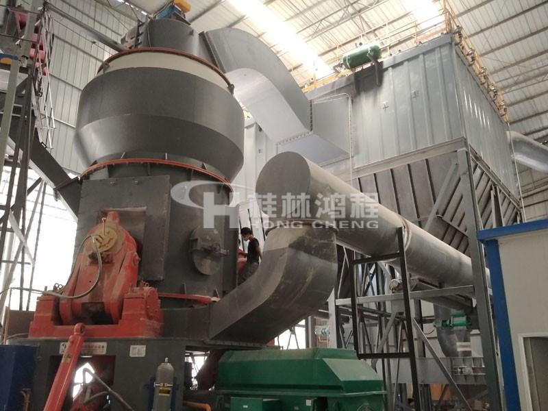 中型矿石立磨机HLM1700立式磨粉机